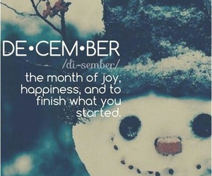 december, happiness, and finish image