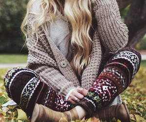 fashion, outfit, and autumn image