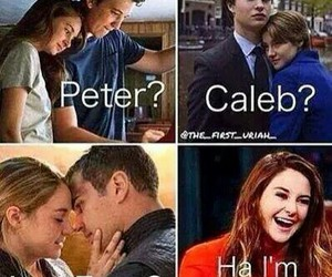 divergent, four, and peter image