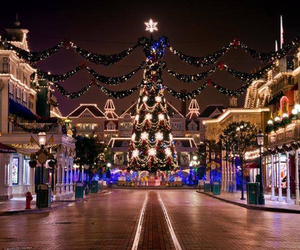 christmas, disney, and street image
