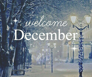 december, snow, and christmas image