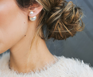 earrings, nails, and jewelry image