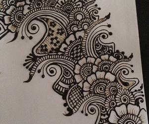 art, diy, and henna image