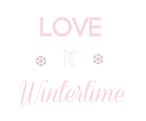winter, love, and pink image