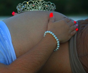 its a girl, love, and momy love image