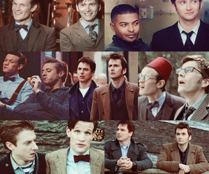 david tennant, doctor who, and john barrowman image