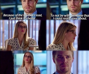 arrow, couple, and serie image