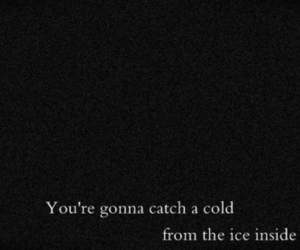 cold, quote, and soul image
