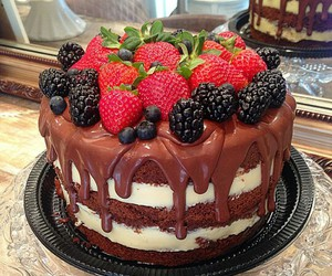 cakes, delicious, and food image