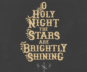 christmas, holy night, and stars image