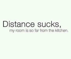 distance, food, and kitchen image
