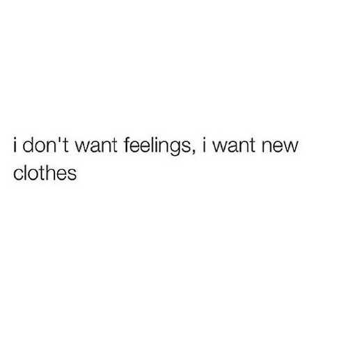 clothes, feelings, and quotes image