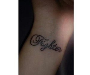 fighter, tattoo, and staystrong image