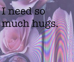 grundge, hug, and hugs image
