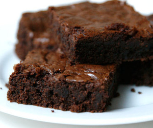 brownies, chocolate, and food image
