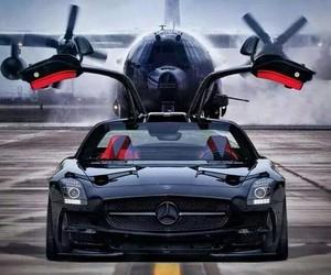 car, luxury, and plane image