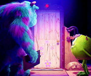 disney, monsters inc, and monster image