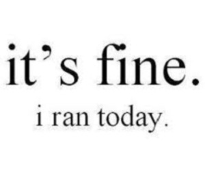 run, feel better, and endorphins image