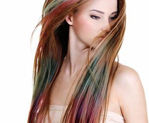 beautiful, colored hair, and hair image
