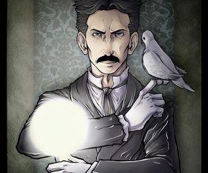 nikola tesla, Tesla, and nikola image