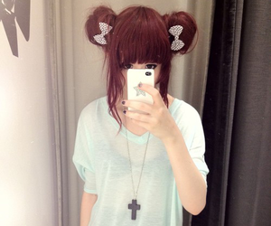 kawaii, style, and hair image