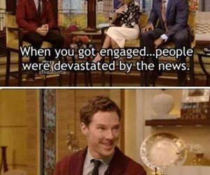benedict cumberbatch, funny, and lol image