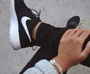nike, shoes, and black image