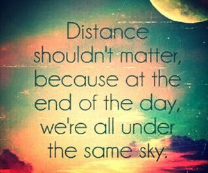day, distance, and quote image