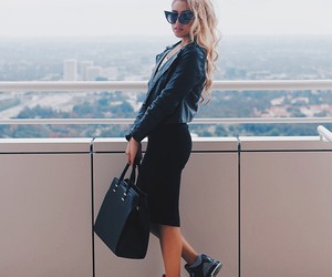 bag, black, and blond image