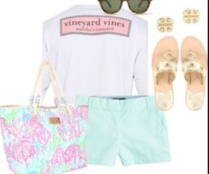 mint, lilly pulitzer, and vineyard vines image