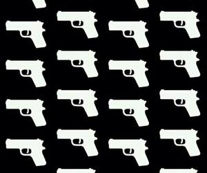 wallpaper, gun, and background image