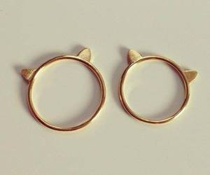 couple, rings, and cute image