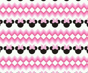 background, minnie mouse, and pattern image