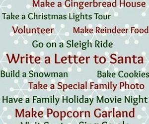 christmas, december, and bucket list image