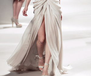catwalk, split, and dress image