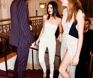 Harry Styles, kendall jenner, and cara delevingne image