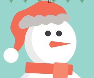 christmas, snowman, and background image