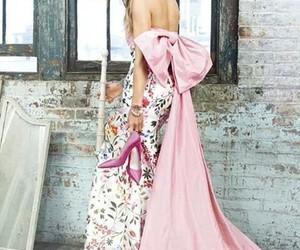 beautiful dress, oscar de la renta, and harper's bazaar arabia image