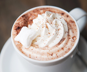 chocolate, drinks, and hot chocolate image