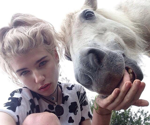 horse, grunge, and charlie barker image