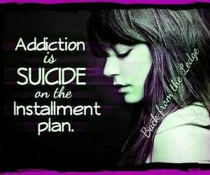 addiction, struggle, and hope image