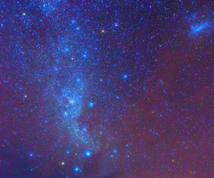paradise, sky, and stars image