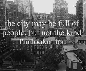 city, quote, and people image