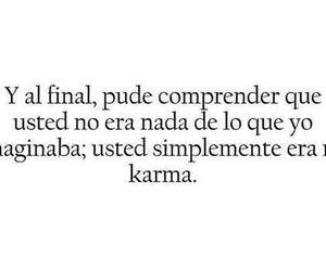 frases, karma, and love image