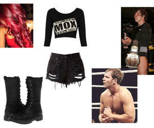 wwe, jon moxley, and ring attire image