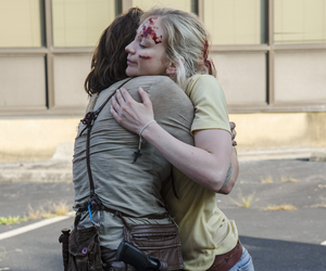 the walking dead, emily kinney, and Maggie image