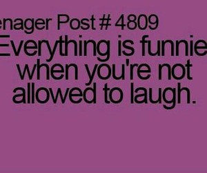 funny, laugh, and teenager image