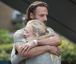 the walking dead, rick grimes, and emily kinney image