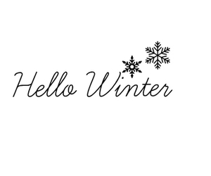 winter, december, and hello image