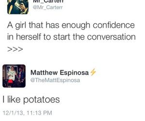 funny, tweets, and matthew espinosa image